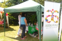 Arbonne at Ladies Day